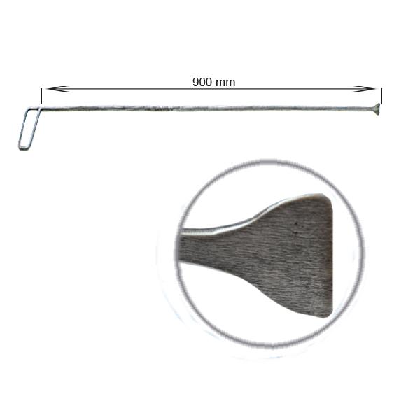 Strebenhaken, L = 900 mm