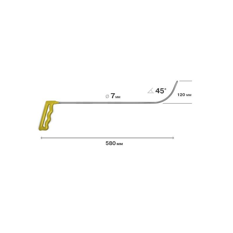 Richthaken, L = 580 mm