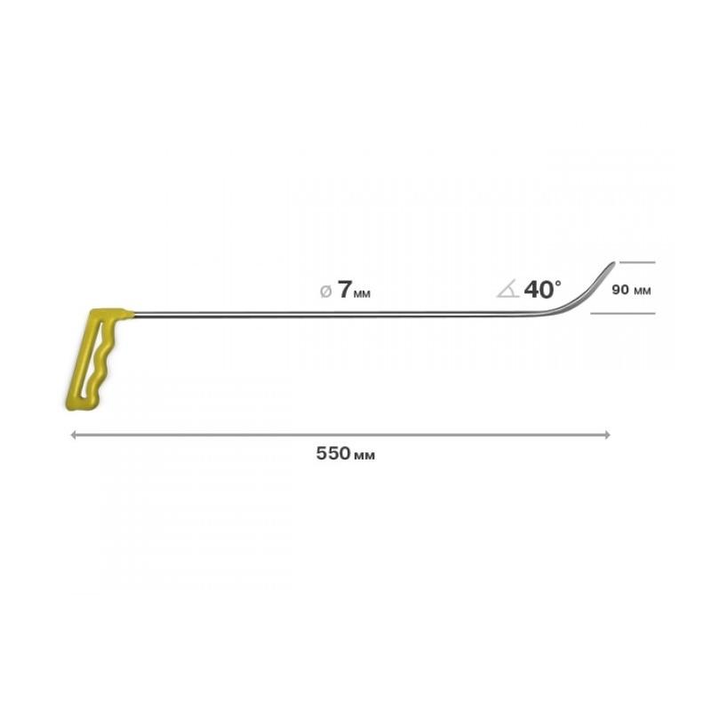 Richthaken, L = 550 mm