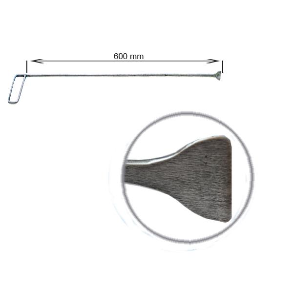 Strebenhaken, L = 600 mm