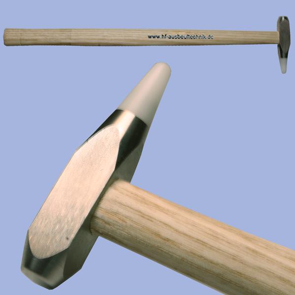 Hammer mit normalen Kopf, Wechselspitze und langem Stiel