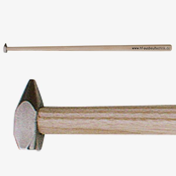 Hammer mit kleinem Kopf und langem Stiel