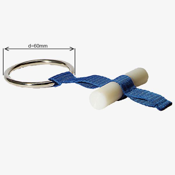 Dachlager, 3 - fach verstellbar, großer Ring (d = 60mm)