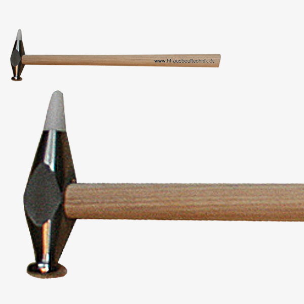 Hammer mit großem Kopf und Wechselspitze
