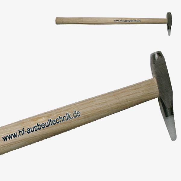 Hammer mit normalen Kopf und Wechselspitze